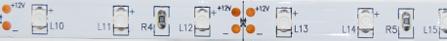 ΤΑΙΝΙΑ SMD 4.8W/m 12VDC RED